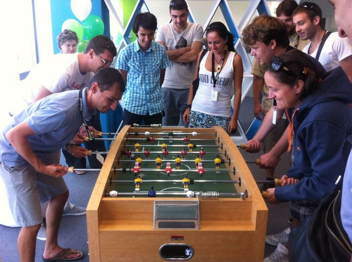 culture is not a fussball table