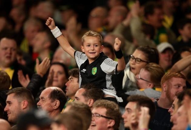 Norwich fan on culture